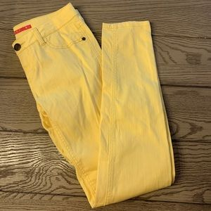 Tinseltown Yellow Jeans Size 5